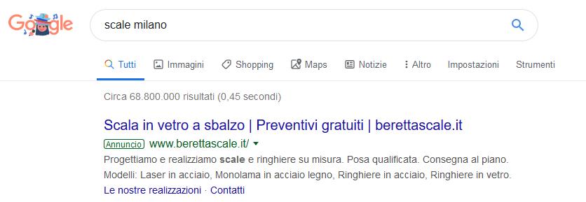 google ads trento rovereto