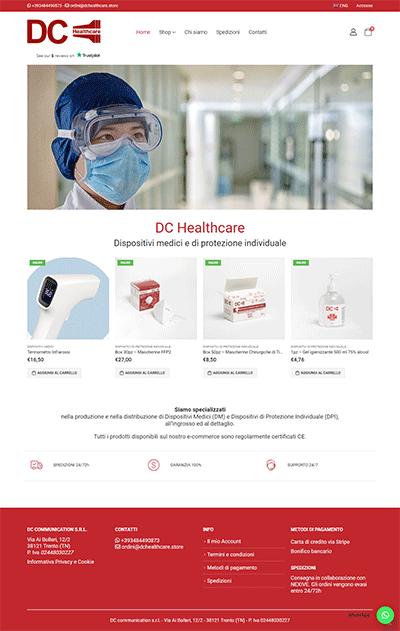 DCHeathcare Ecommerce